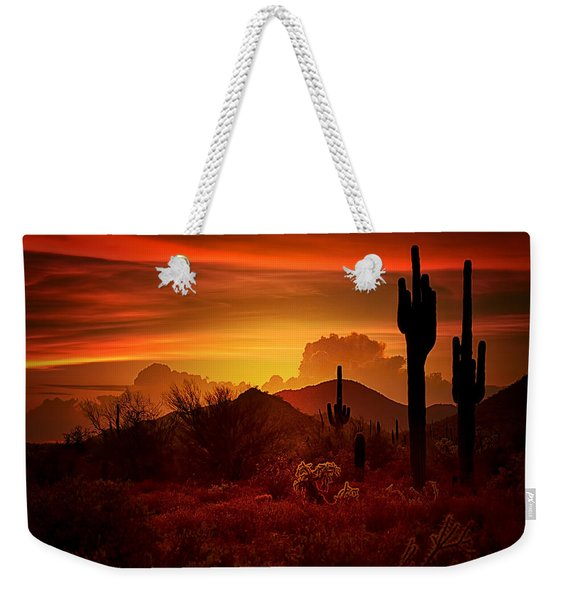 The Essence Of The Southwest Weekender Tote Bag