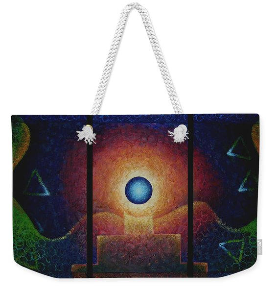 The Eternal Flame Weekender Tote Bag
