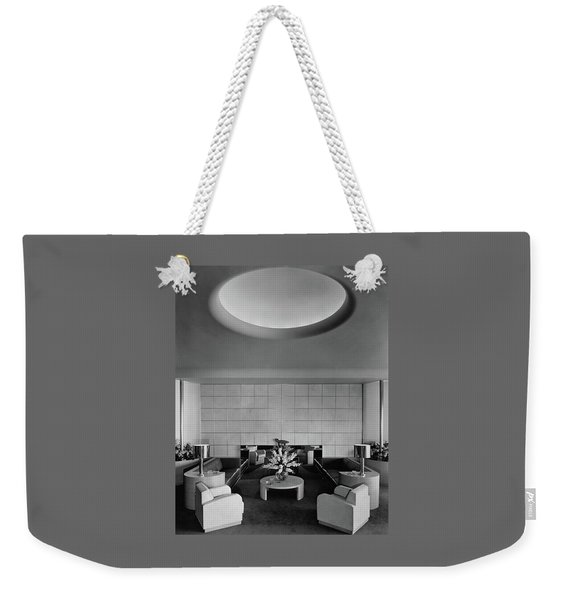 The Executive Lounge At The Ford Exposition Weekender Tote Bag