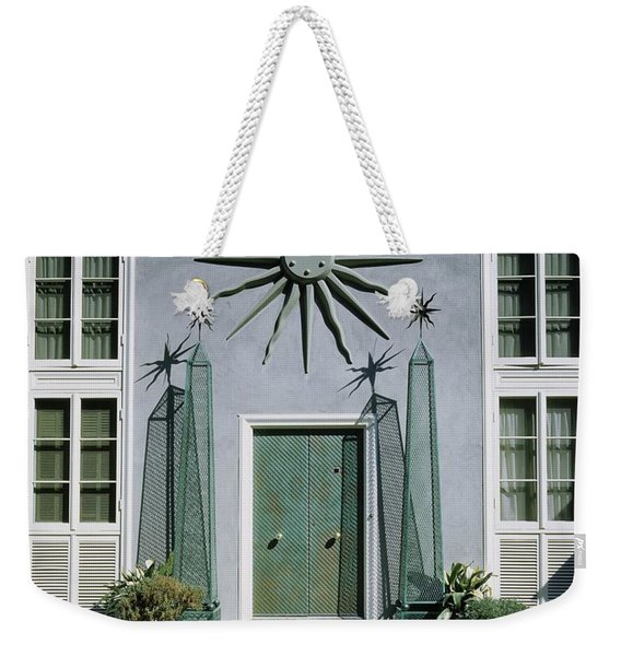 The Facade Of Tony Duquette's House Weekender Tote Bag