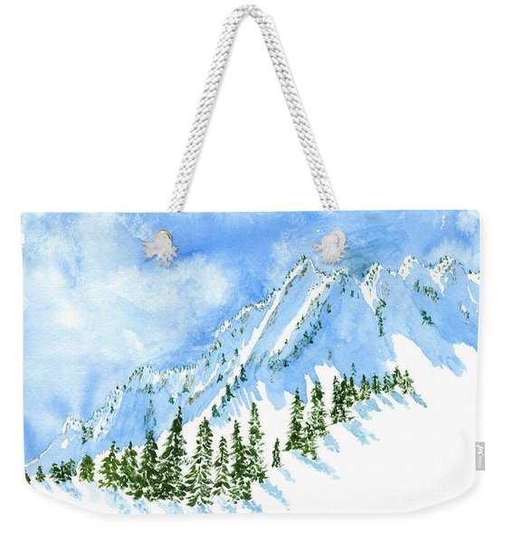 The Face Of The Sisters Weekender Tote Bag