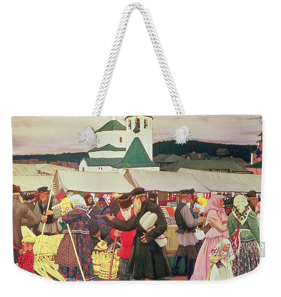The Fair, 1906 Oil On Canvas Weekender Tote Bag