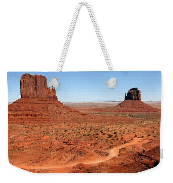 The Famous Mittens Weekender Tote Bag