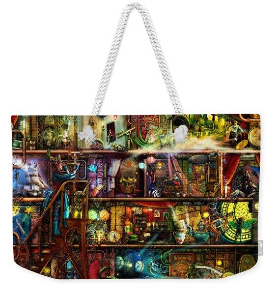 The Fantastic Voyage Weekender Tote Bag