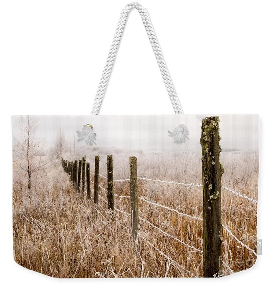 The Fence Still Stands Weekender Tote Bag