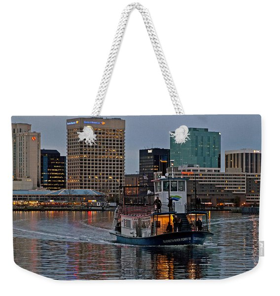 The Ferry To Portsmouth Weekender Tote Bag