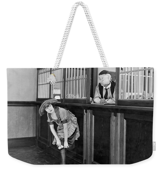 The Film the Haunted House Weekender Tote Bag