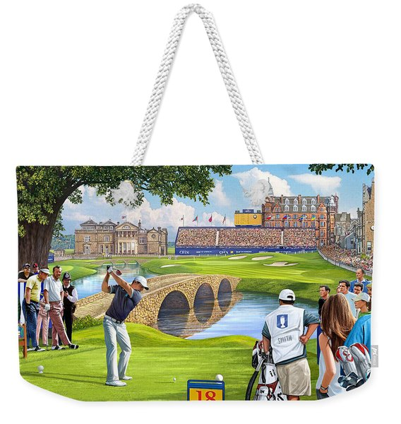 The Final Hole -golfers Paradise Weekender Tote Bag