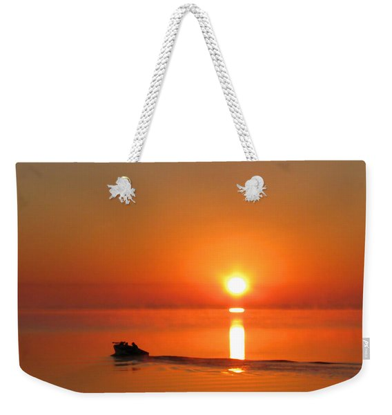 The Fish Are Waiting Weekender Tote Bag