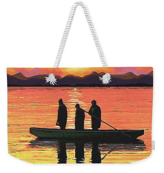The Fishermen Weekender Tote Bag