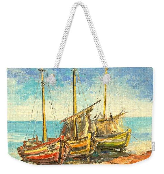 The Fishing Cutters Weekender Tote Bag