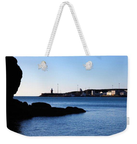 The Fishing Harbour, Dunmore East Weekender Tote Bag