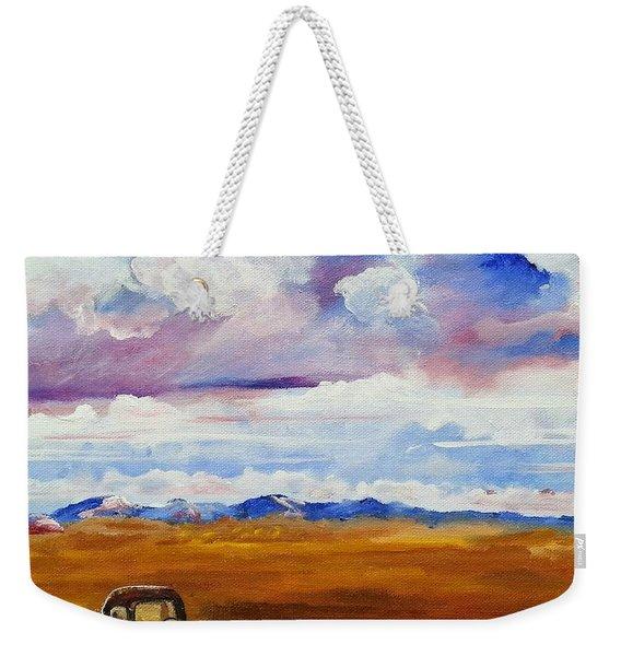The Flathead Weekender Tote Bag