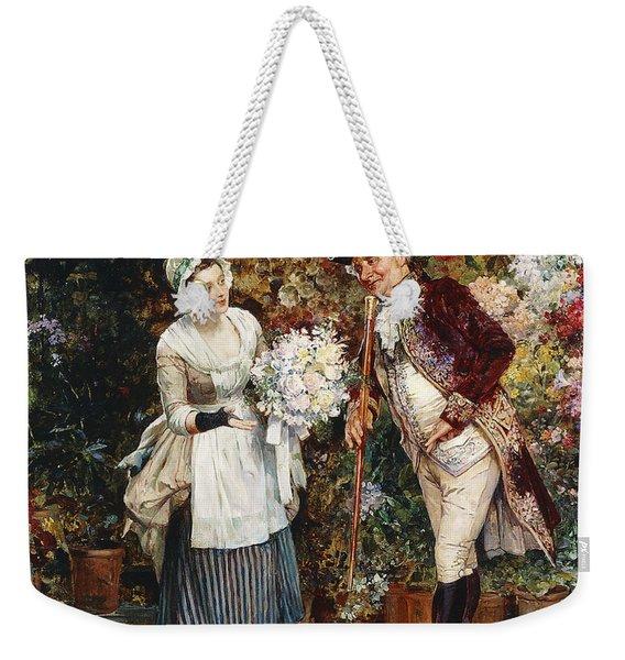The Flower Girl Weekender Tote Bag
