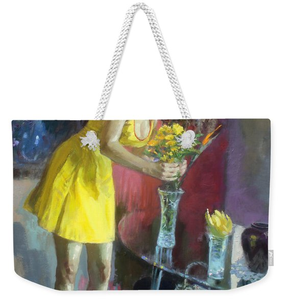 The Flowers Weekender Tote Bag