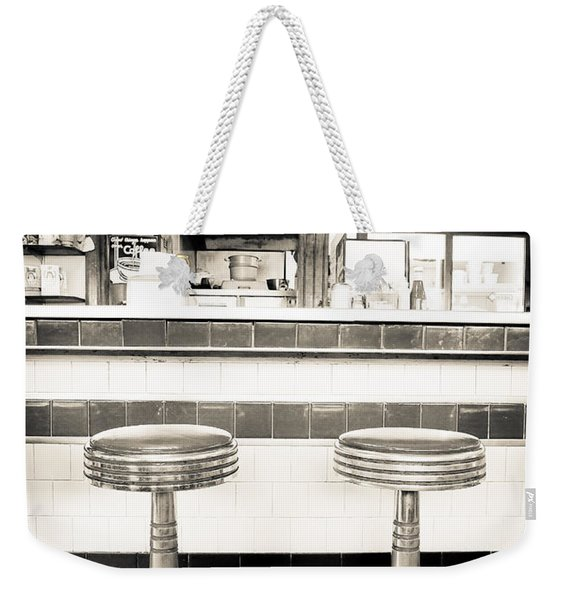 The Four Aces Diner Weekender Tote Bag