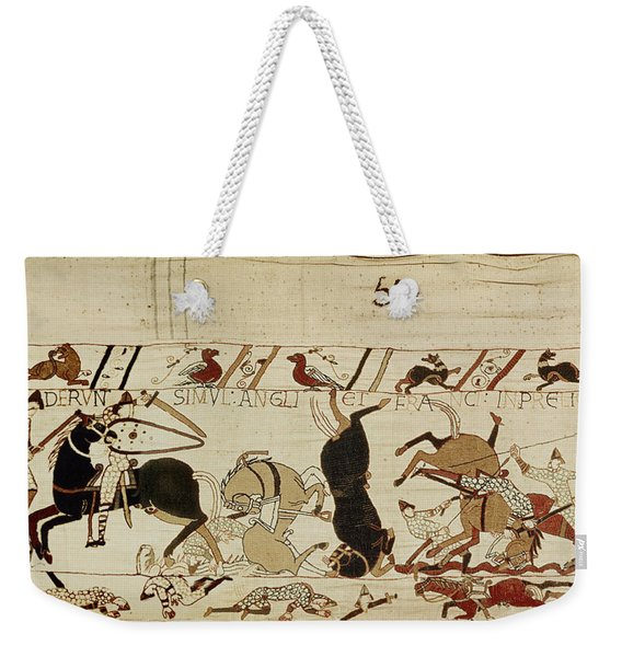 The Bayeux Tapestry Weekender Tote Bag