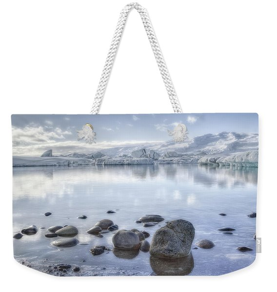The Frozen World Weekender Tote Bag