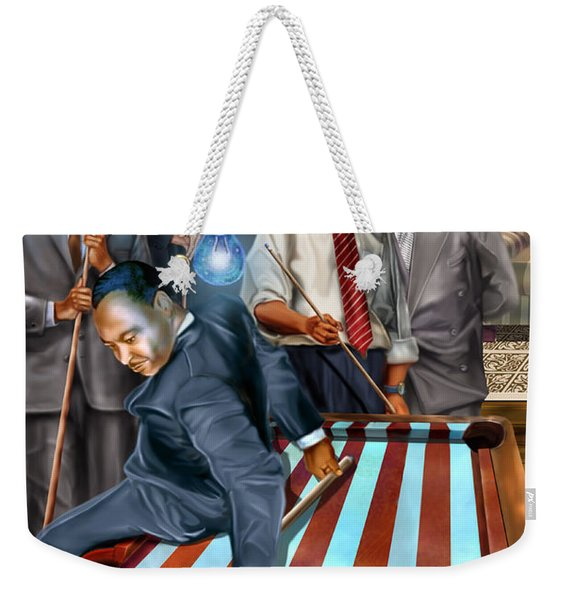 The Game Changers And Table Runners Weekender Tote Bag