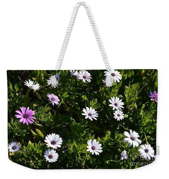 Weekender Tote Bag featuring the photograph The Garden by Laurie Lundquist