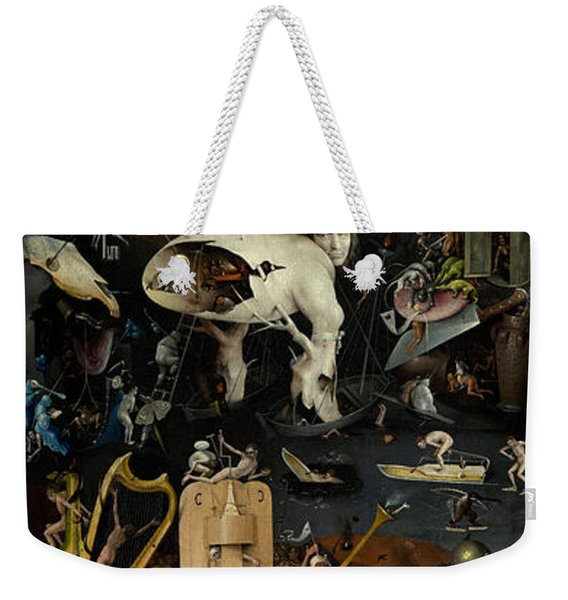 The Garden Of Earthly Delights. Right Panel Weekender Tote Bag