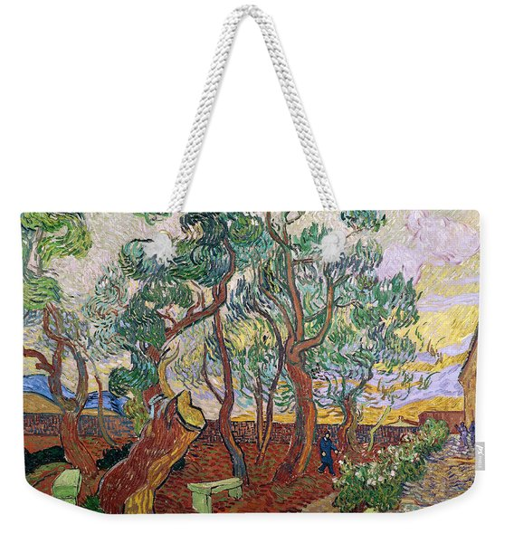 The Garden Of St Pauls Hospital At St. Remy Weekender Tote Bag