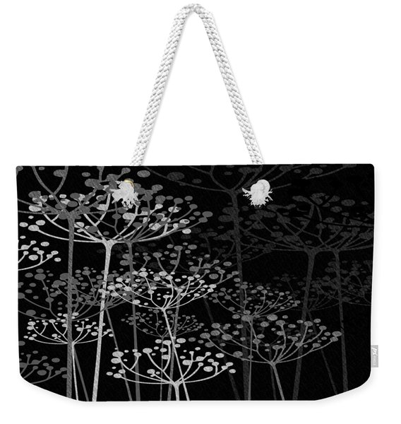 The Garden Of Your Mind Bw Weekender Tote Bag