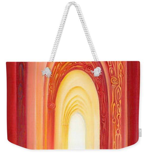 The Gate Of Light Weekender Tote Bag