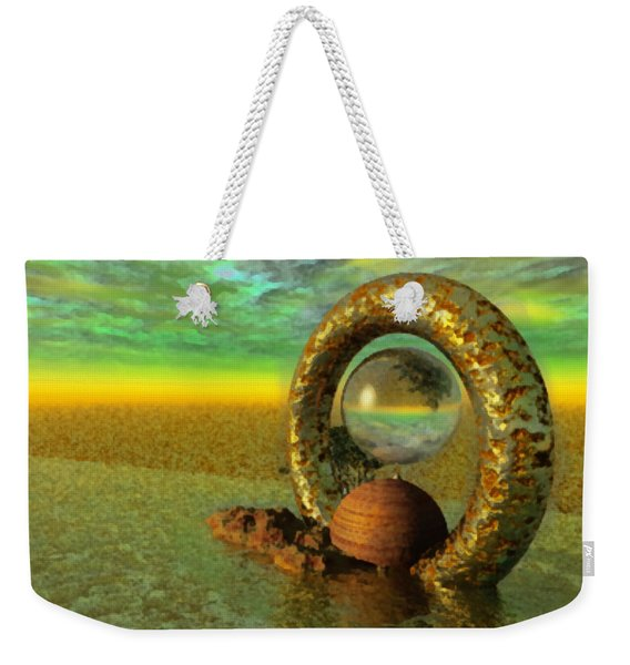 The Gate Of Reflections Weekender Tote Bag