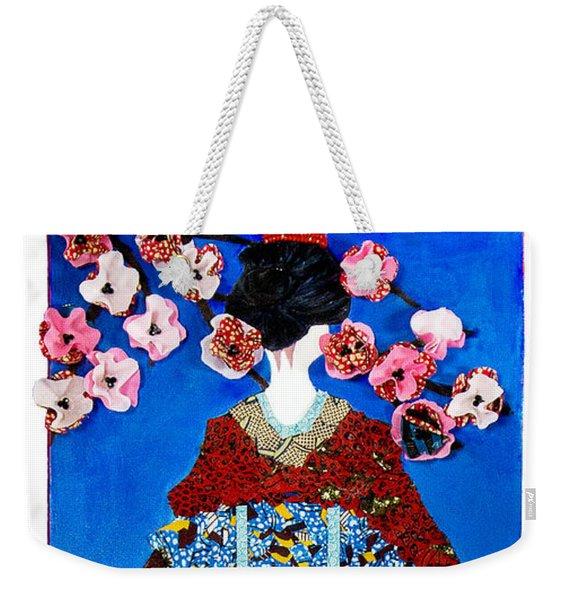 The Geisha Weekender Tote Bag