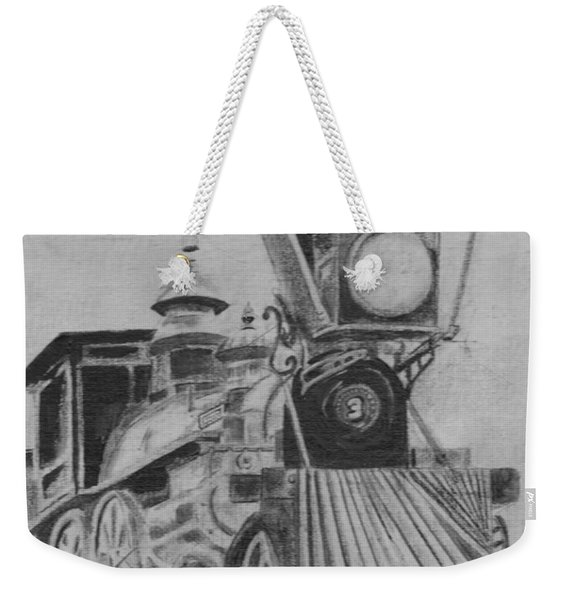 The General - Train - Big Shanty Kennesaw Ga Weekender Tote Bag