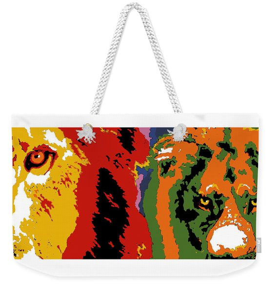 The Ghost And The Darkness Weekender Tote Bag