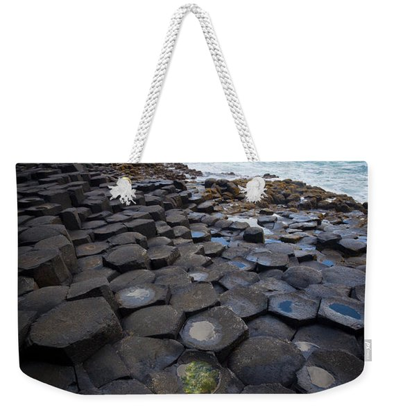 The Giant's Causeway - Staircase Weekender Tote Bag