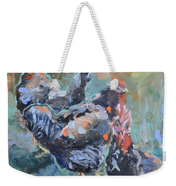 The Girls Of Green Hill Farm Weekender Tote Bag
