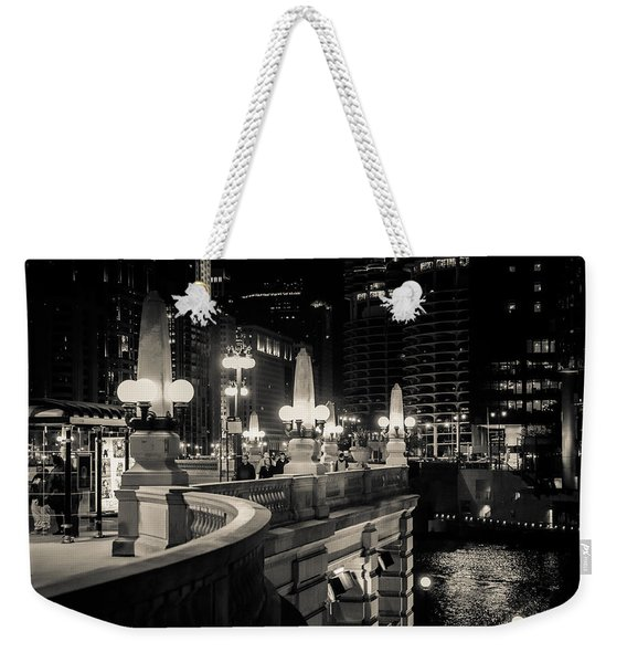 The Glow Over The River Weekender Tote Bag