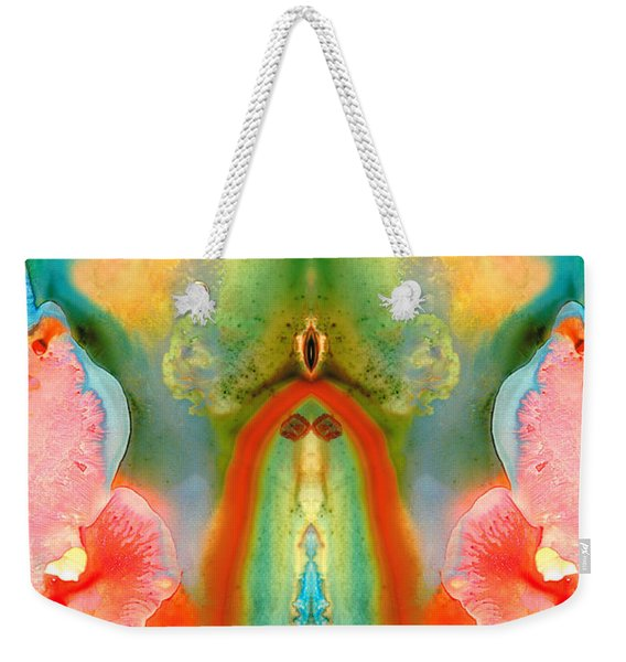 The Goddess - Abstract Art By Sharon Cummings Weekender Tote Bag