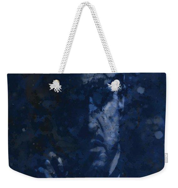 The Godfather Blue Splats Weekender Tote Bag