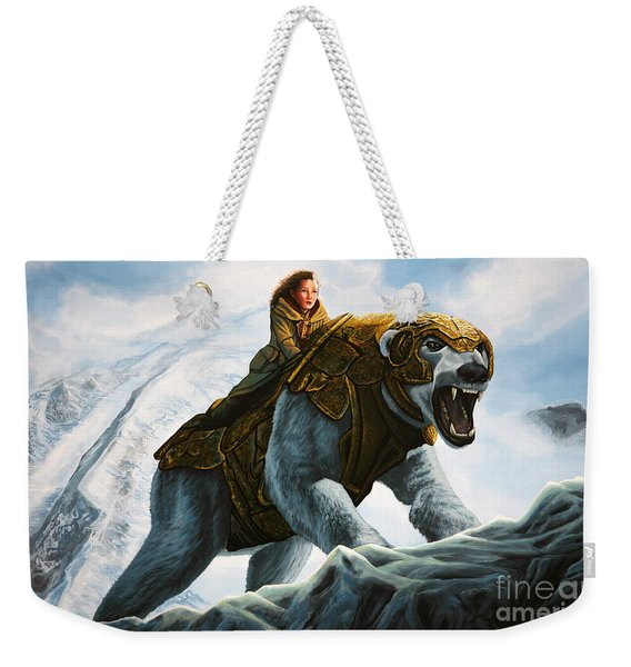 The Golden Compass  Weekender Tote Bag