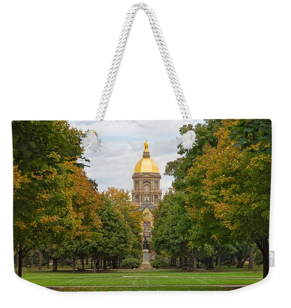 The Golden Dome Of Notre Dame Weekender Tote Bag