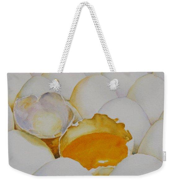 The Good Egg Weekender Tote Bag