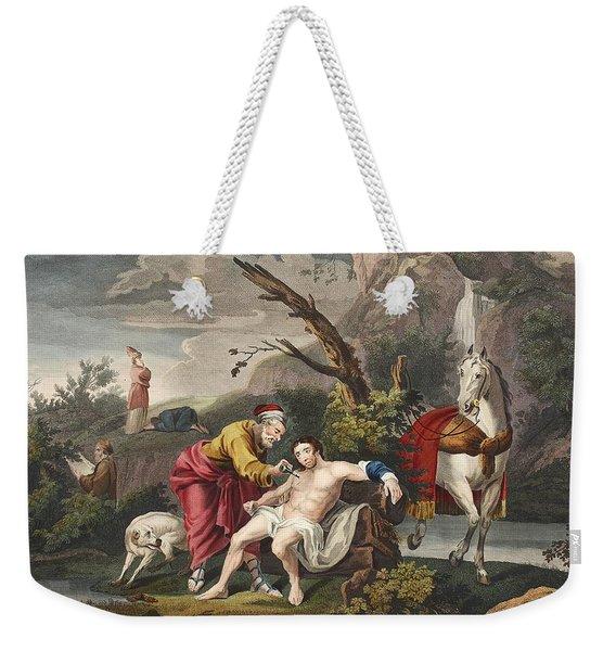 The Good Samaritan, Illustration Weekender Tote Bag