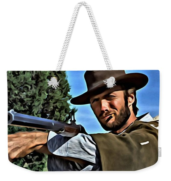 The Good The Bad And The Ugly Weekender Tote Bag