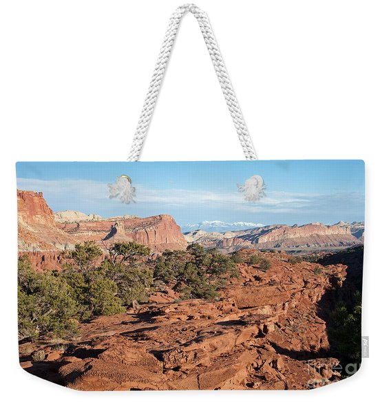 The Goosenecks Capitol Reef National Park Weekender Tote Bag