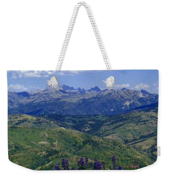 The Grand And Lupines Weekender Tote Bag
