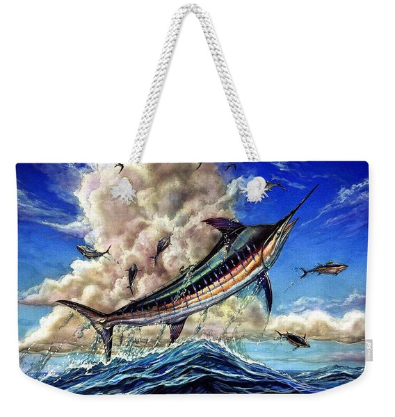The Grand Challenge  Marlin Weekender Tote Bag