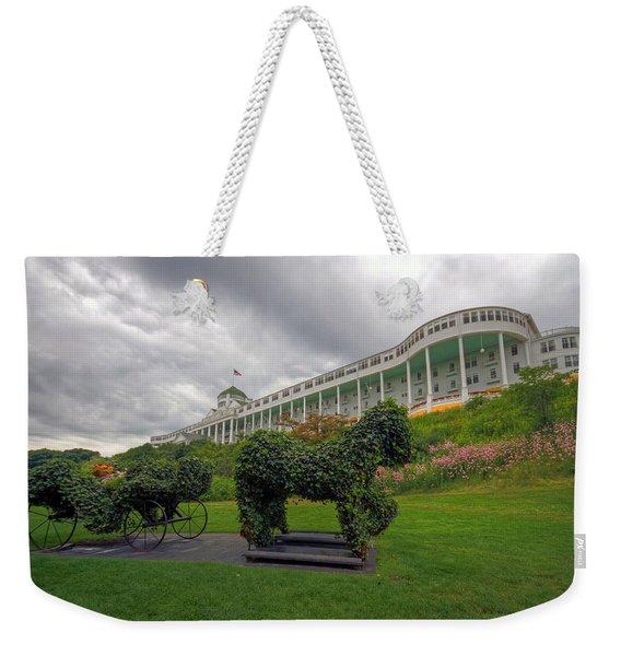 The Grand Hotel Mackinac Island Weekender Tote Bag
