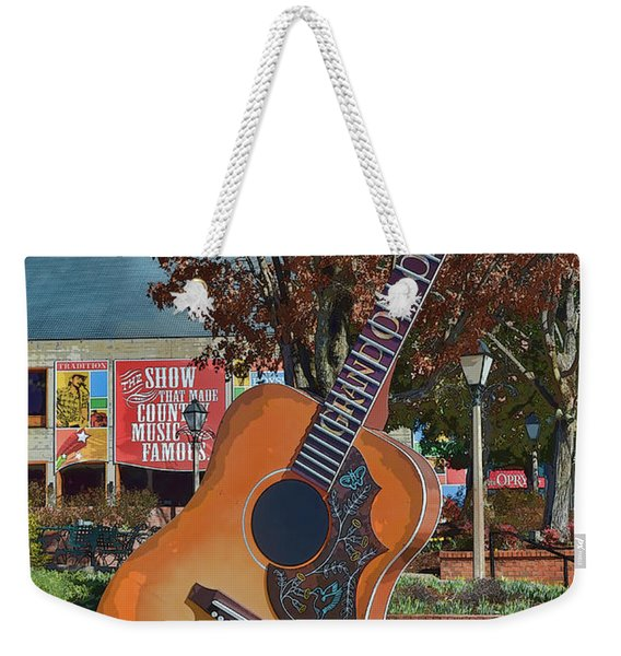 The Grand Ole Opry Weekender Tote Bag