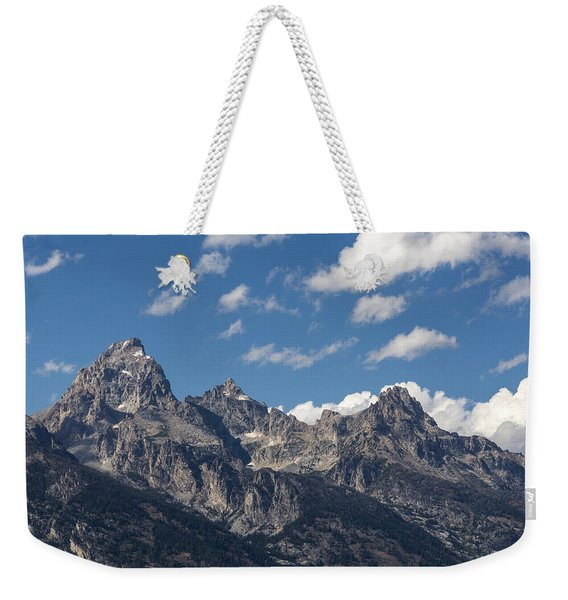 The Grand Tetons - Grand Teton National Park Wyoming Weekender Tote Bag