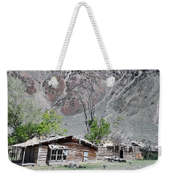 The Grass Is Greener When It's Growing On The Roof Weekender Tote Bag