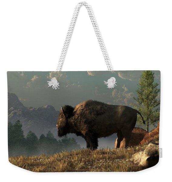 The Great American Bison Weekender Tote Bag